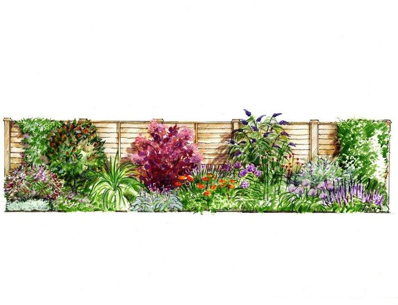 Garden borders Illustration - Society of Architectural ...