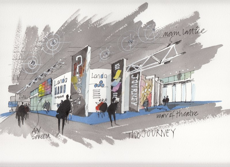 Exhibition Stand Sketch : Exhibition stand design for stand builder gm stand design