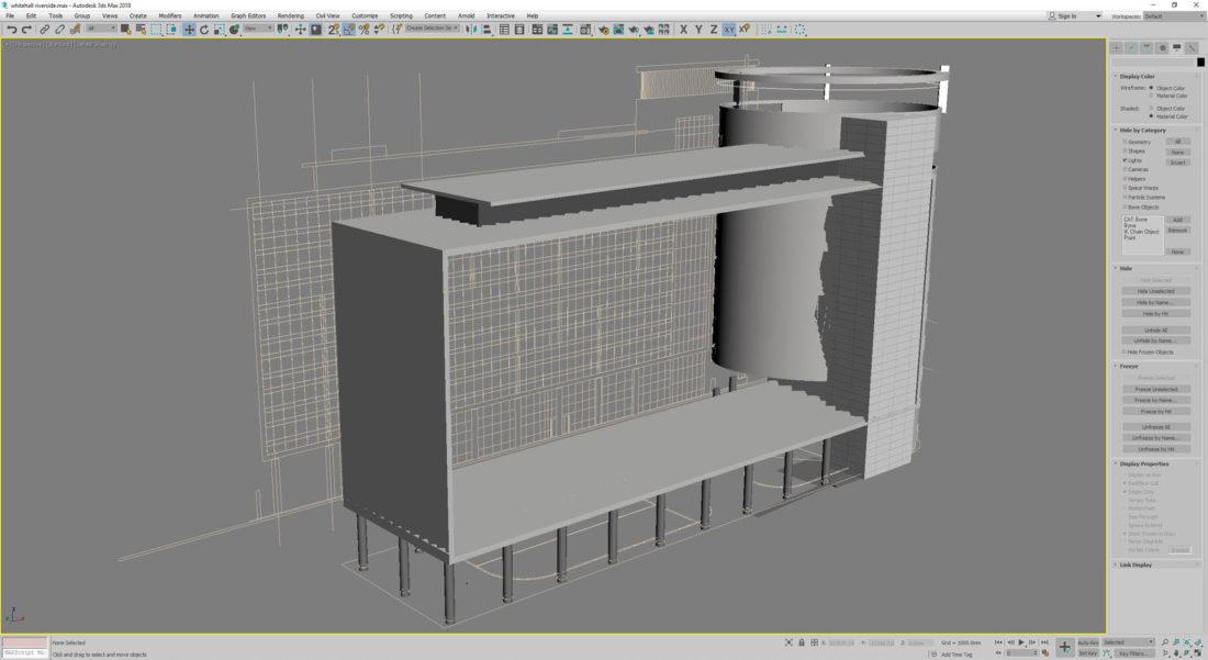 Model structural elements