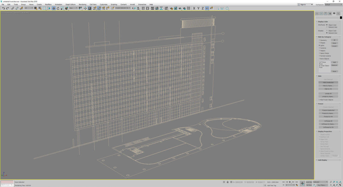Import plans and elevations into 3D program